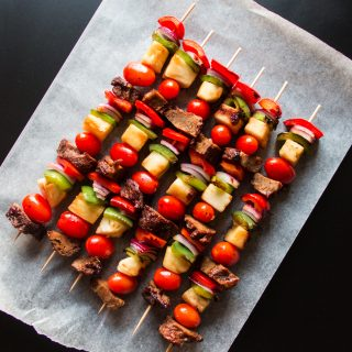 Hawaiian Seitan Skewers