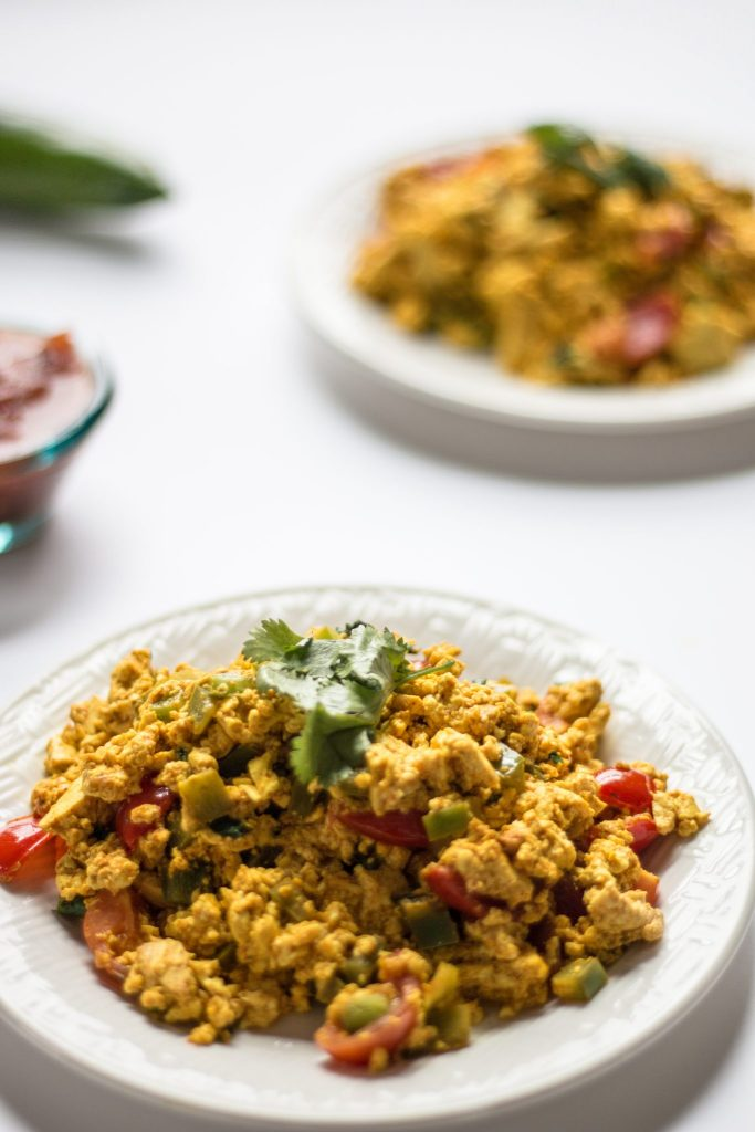 Mexican Tofu Scramble | www.thenutfreevegan.net
