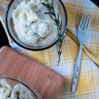 Rosemary and Garlic Cauliflower Mash