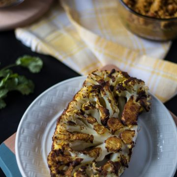 Tandoori Cauliflower Steaks | www.thenutfreevegan.net