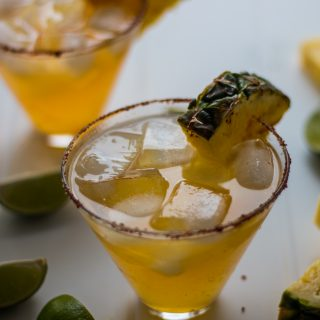 Pineapple Chipotle Margarita