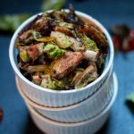 Balsamic Strawberry Brussels Sprouts | www.thenutfreevegan.net