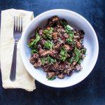 One-Pot Vegan Sausage, Kale and Quinoa | www.thenutfreevegan.net