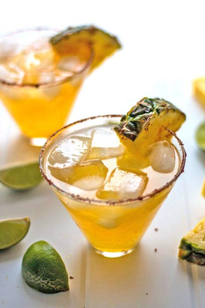 Pineapple Chipotle Margarita Nutfreevegan