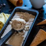 No-Churn Vegan Coffee Ice Cream | www.thenutfreevegan.net