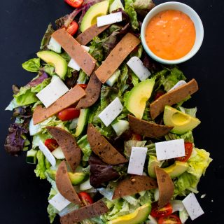 Meat-Free Chef Salad