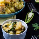 Spicy Southwestern Potato Salad | www.thenutfreevegan.net