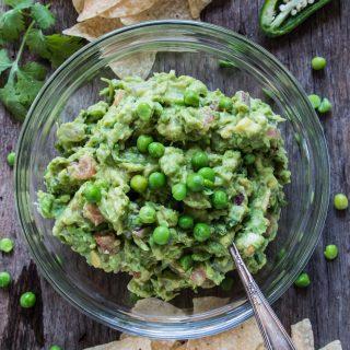 Green Pea Guacamole