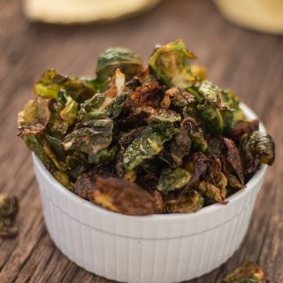Amazing Southwestern Brussels Sprouts Chips