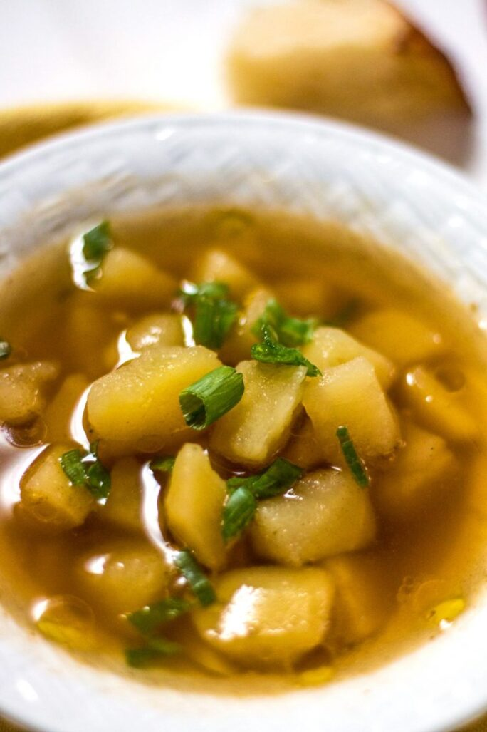 Easy and delicious yukon gold potato soup