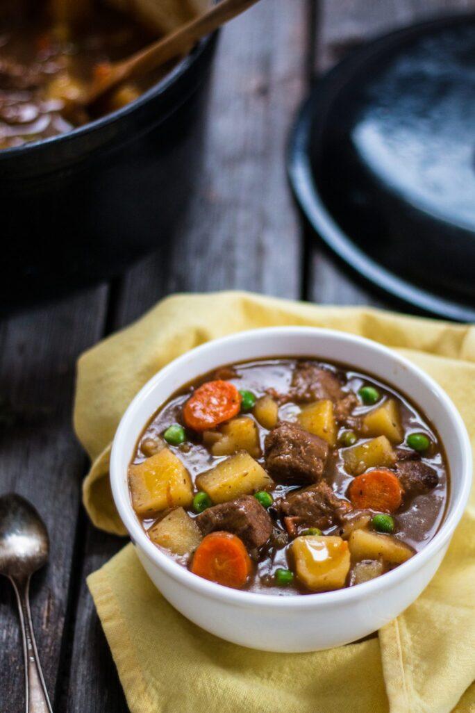 Beefless Beef Stew Nutfreevegan