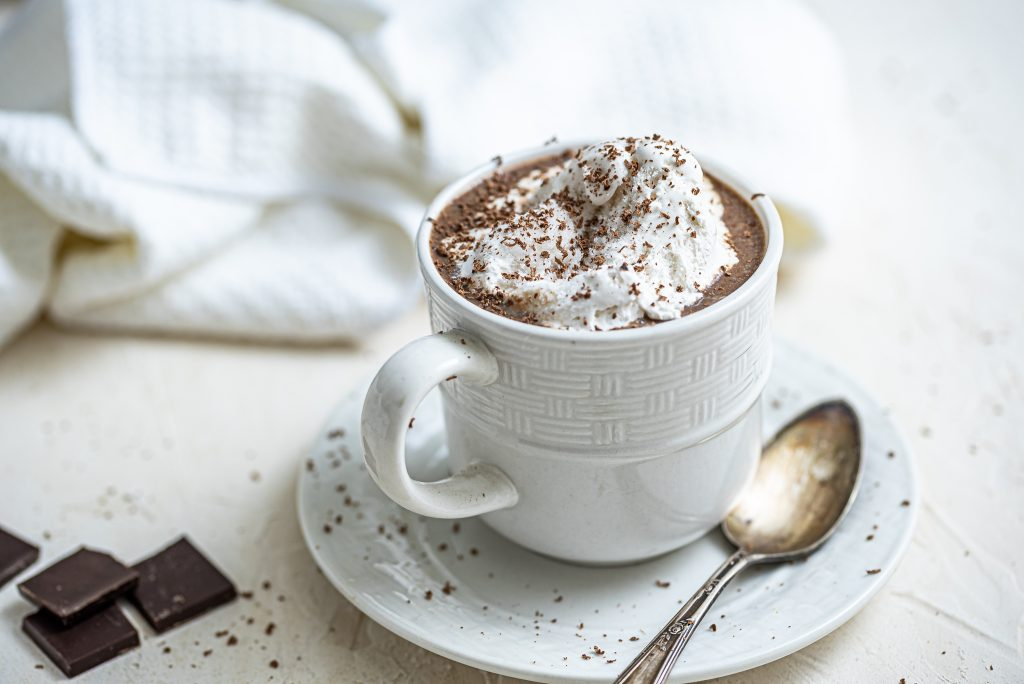Awesome Vegan Hot Chocolate Nutfreevegan