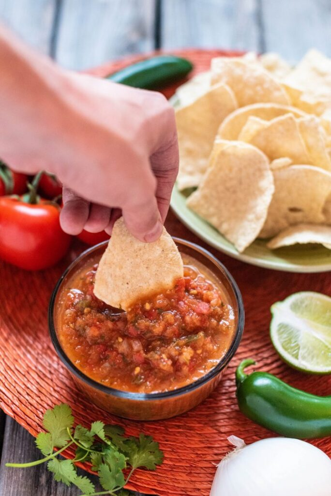 Authentic Mexican Salsa Vegan Gluten-Free Nutfreevegan Cinco de Mayo