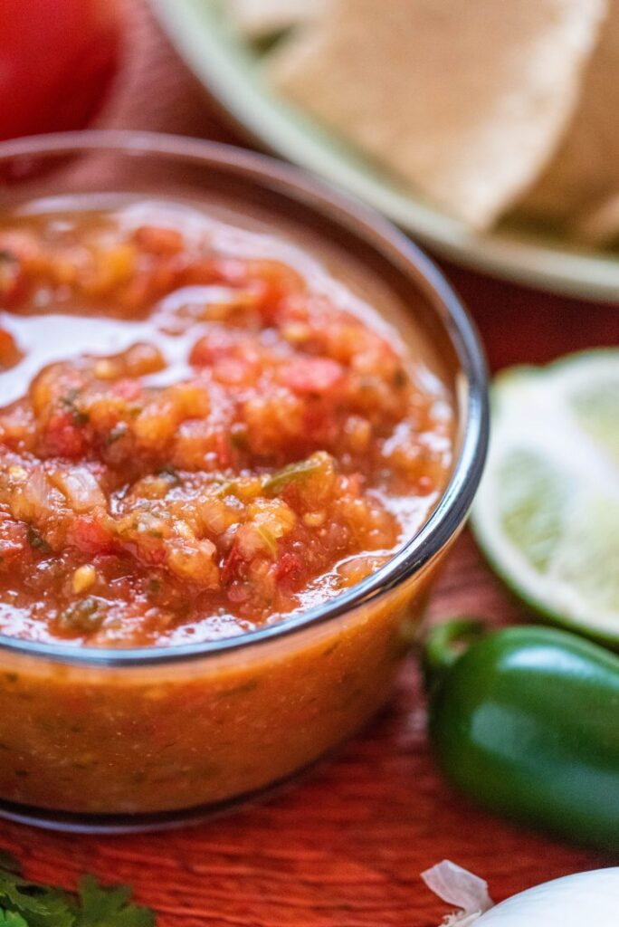 Authentic Mexican Salsa Vegan Gluten-Free Nutfreevegan