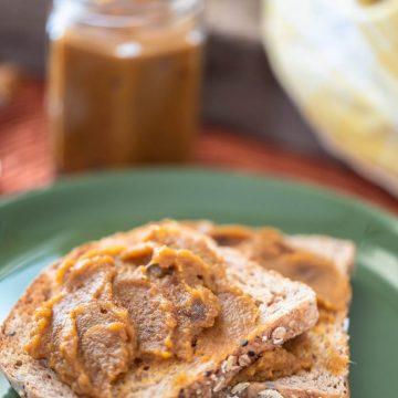 Pumpkin Butter Spread Nutfreevegan
