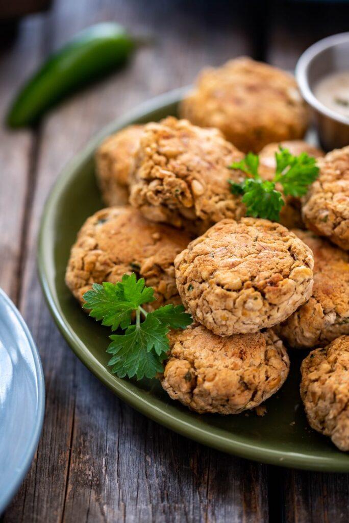 Baked Jalapeno Falafel nutfreevegan vegan