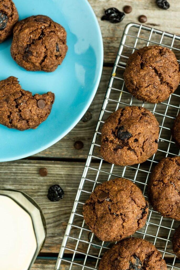 Black Forest Cookies Nutfreevegan