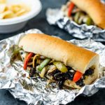 Portobello Philly Cheesesteak nutfreevegan