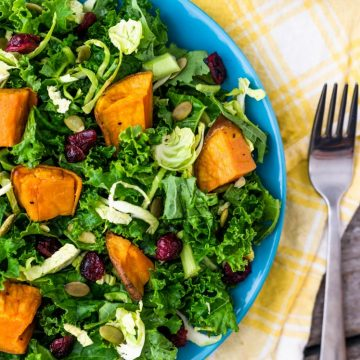 Winter Detox Salad with Orange Vinaigrette