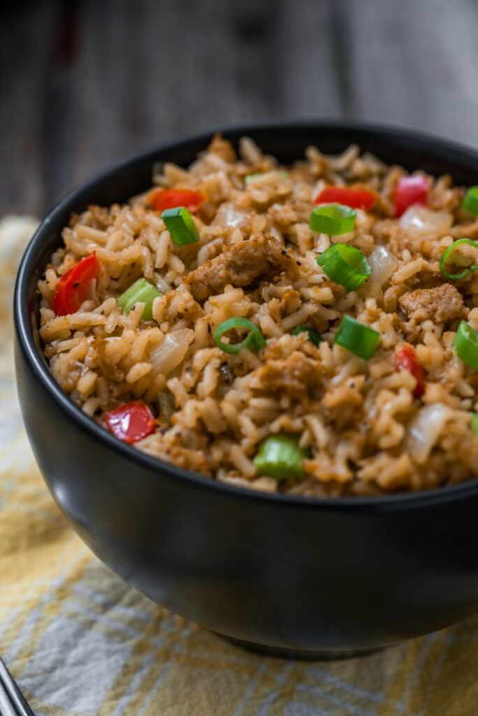 Cajun Dirty Rice Nutfreevegan