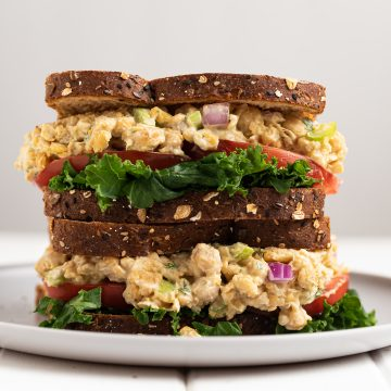 Chickpea Tuna Nut-free vegan