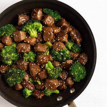 Beefless Beef and Broccoli Nutfreevegan