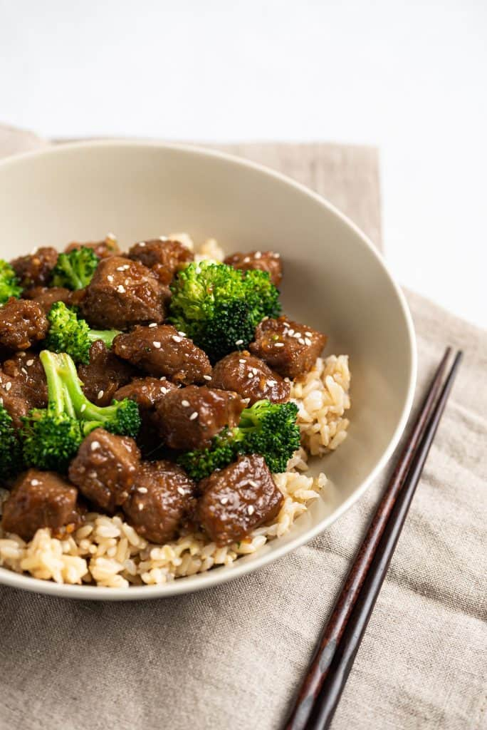 Beefless Beef and Broccoli