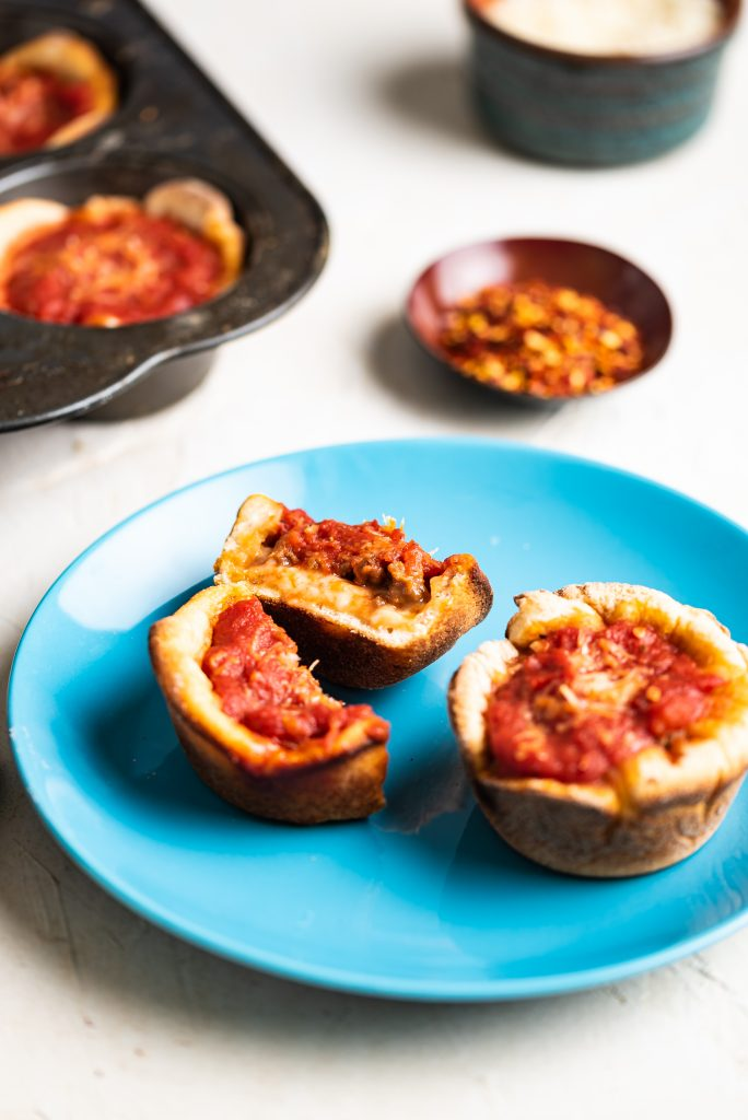 Beyond Meat Chicago-Style Mini Pizzas NutfreeveganBeyond Meat Chicago-Style Mini Pizzas Nutfreevegan